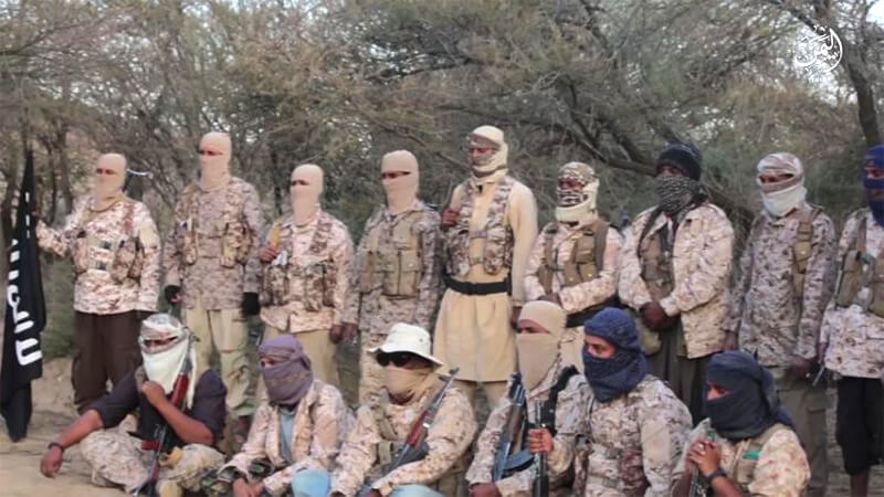 Islamic State fighters in Yemen (photo http://armswatch.com)