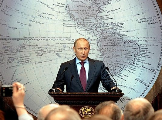 Vladimir Putin (photo Fort Russ)