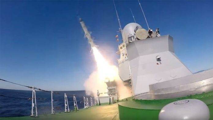 First launch of the Kh-35 Uran anti-ship cruise missile (photo Russia Today)