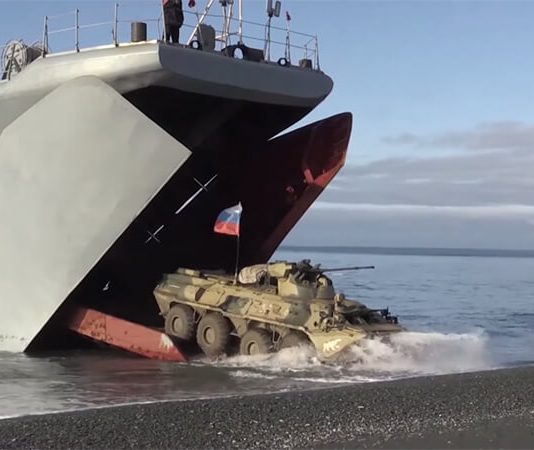 Military drills in Arctic (photo Russia Today)