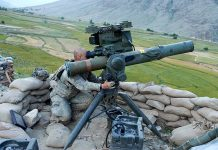 An M41 tripod-mounted TOW ITAS-FTL with PADS of the U.S. Army in Kunar Province, Afghanistan (photo wikipedia)