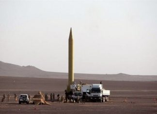Sejjil, Iranian medium-range ballistic missile (photo Balkans Post)