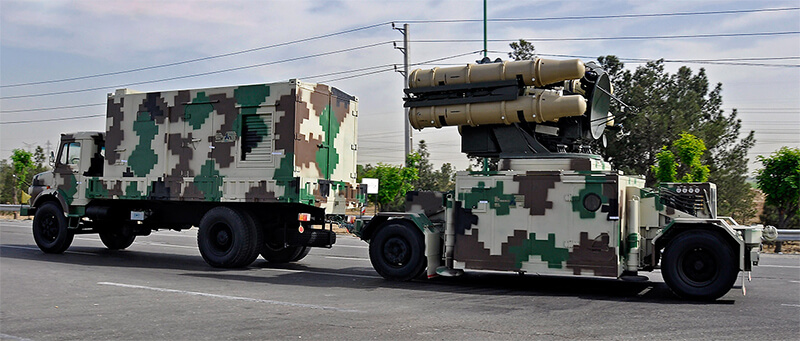 Ya Zahra launcher and command vehicle (photo Wikipedia)