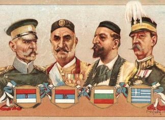 The Balkan League - Leaders of Four Balkan Kingdoms