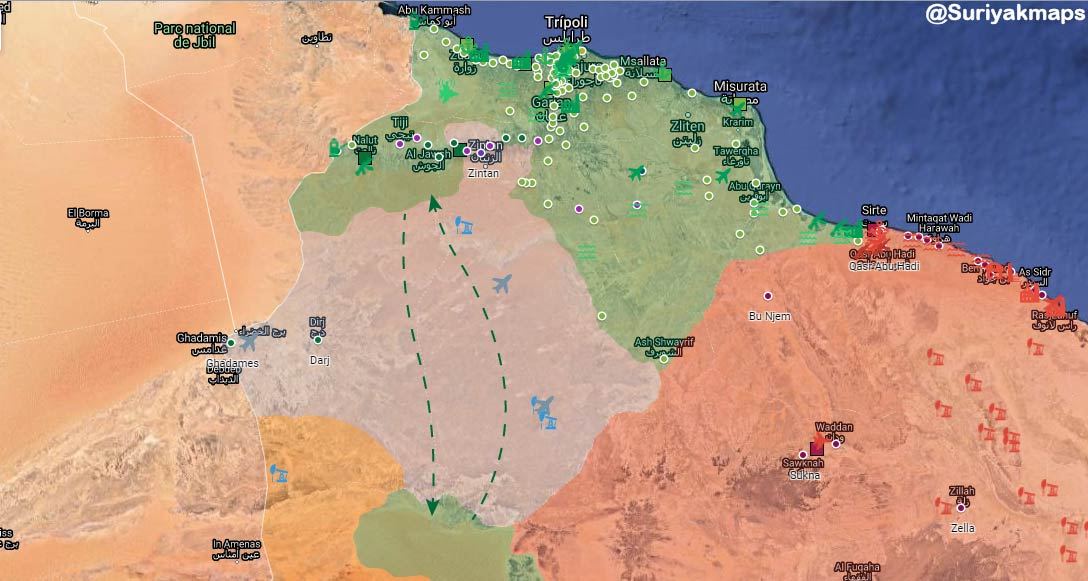 Haftar S Army Holds Libyan Gna And Pro Turkish Forces 50 Kilometers From Sirte Geopolitics News